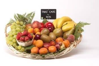 Livraison de corbeilles de fruits