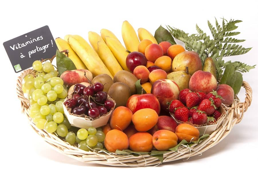 Corbeille de fruits BIO 12kg
