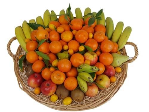 Exemple d'une corbeille de 9 KG - Fruits d'Hiver