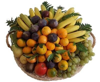 Exemple d'une corbeille de 9 KG - Fruits d'Automne