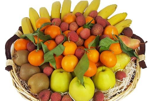 Exemple corbeille de 6 KG - Fruits d'hiver