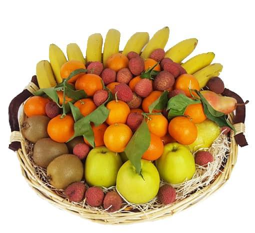 Exemple d'une corbeille de 6 KG - Fruits d'Automne