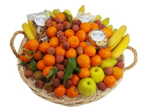 Corbeille de fruits bio 9 KG MIX fruits secs