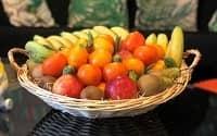 Paniers de fruits bio