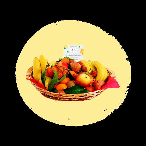 Panier de fruits 6 Kg - BOB